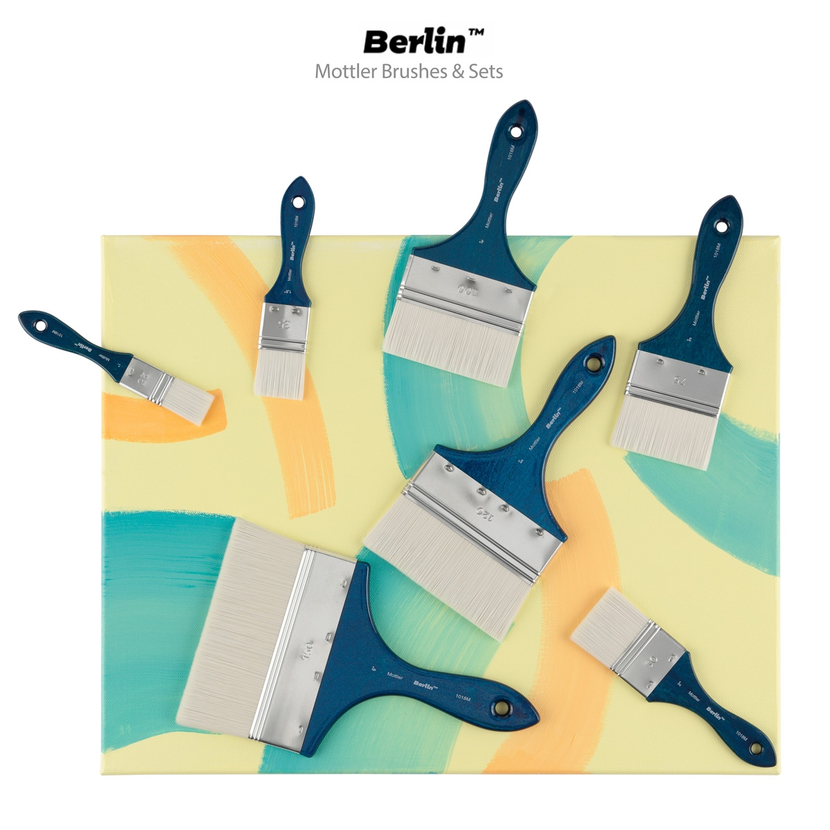 Creative Mark Berlin Mottler Brushes
