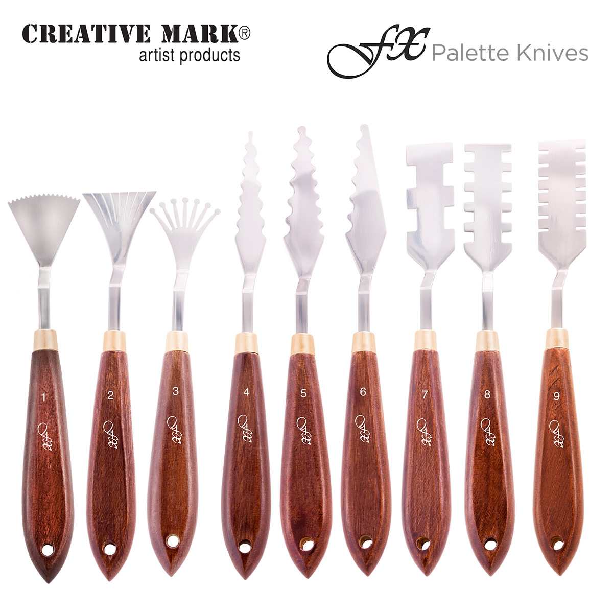 Creative Mark FX Special Effects Palette Knives