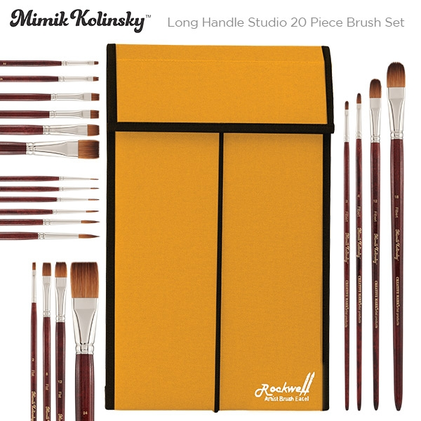 Mimik Kolinsky Studio Set of 20