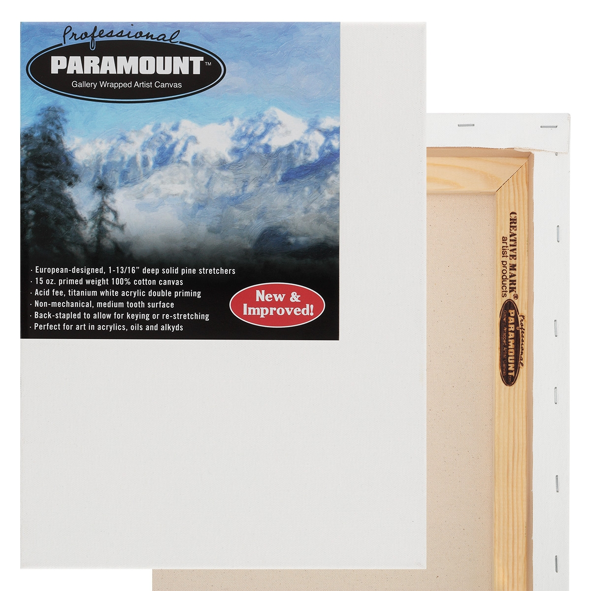 Paramount 1-13/16 Professional Gallery Wrap Canvas