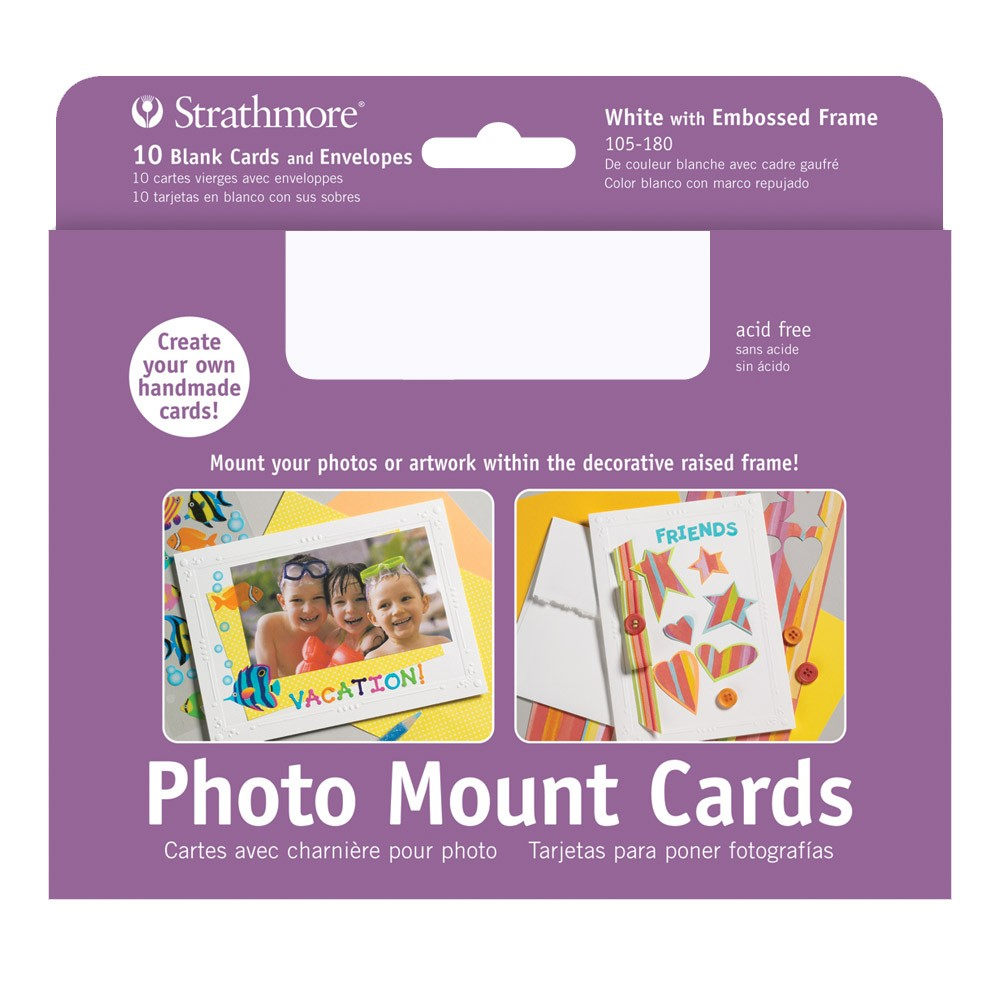 Strathmore blank photo mount and photo frame cards jerrys artarama strathmore blank photo mount and photo frame cards m4hsunfo Images