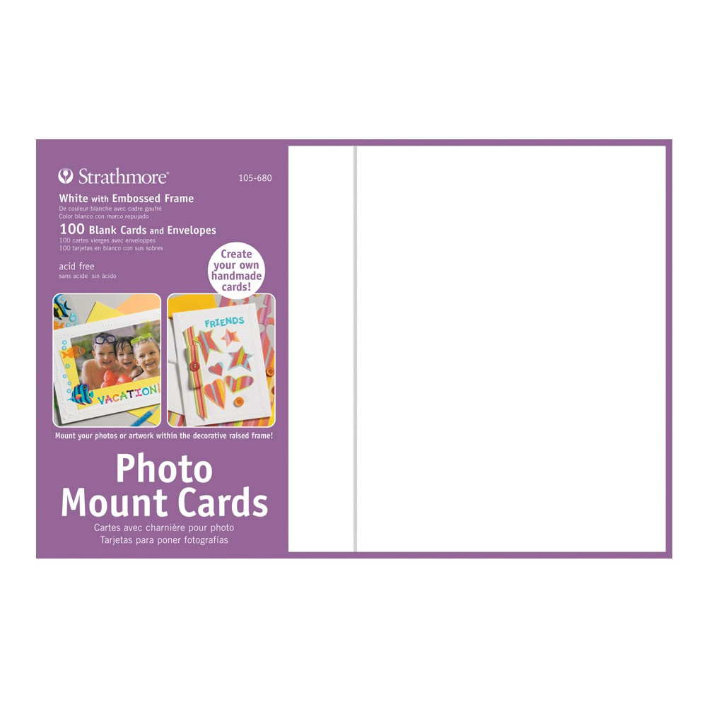 Strathmore Blank Photo Mount And Photo Frame Cards Jerry S