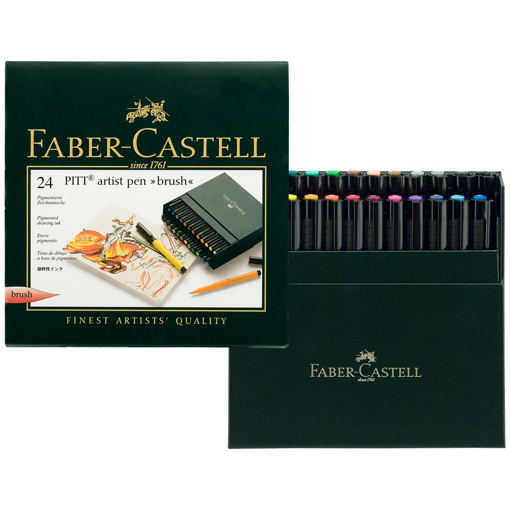 PITT Artist Brush Pen Sets - Faber Castell - Jerry's Artarama