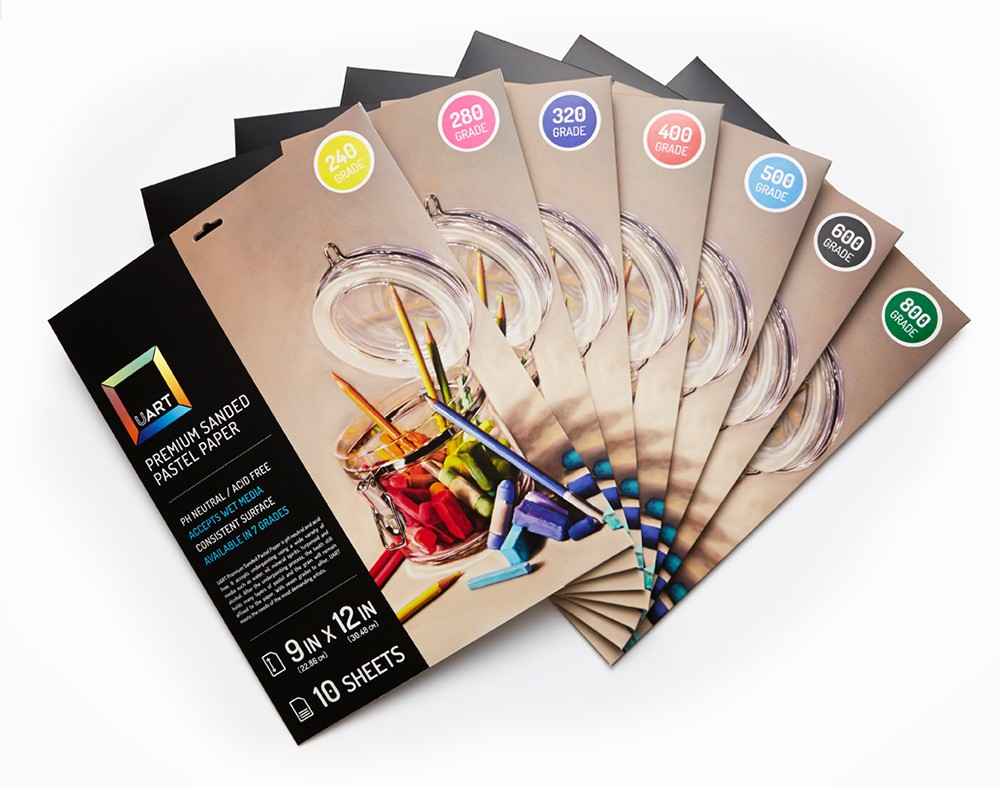 UART 400 Archival Sanded Pastel Paper 56 Inch by 10.9 Yard Roll