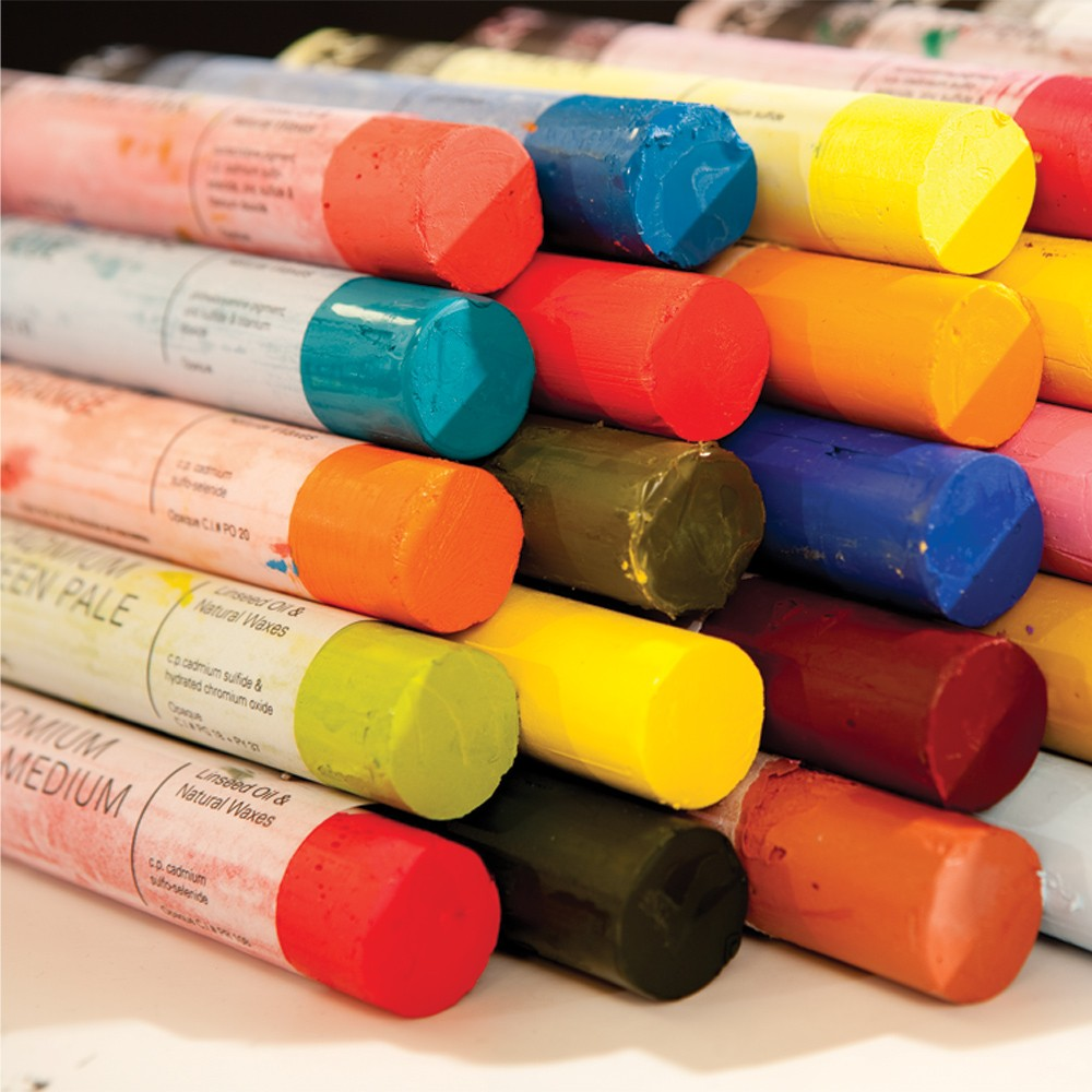 oil paint sticks how to use