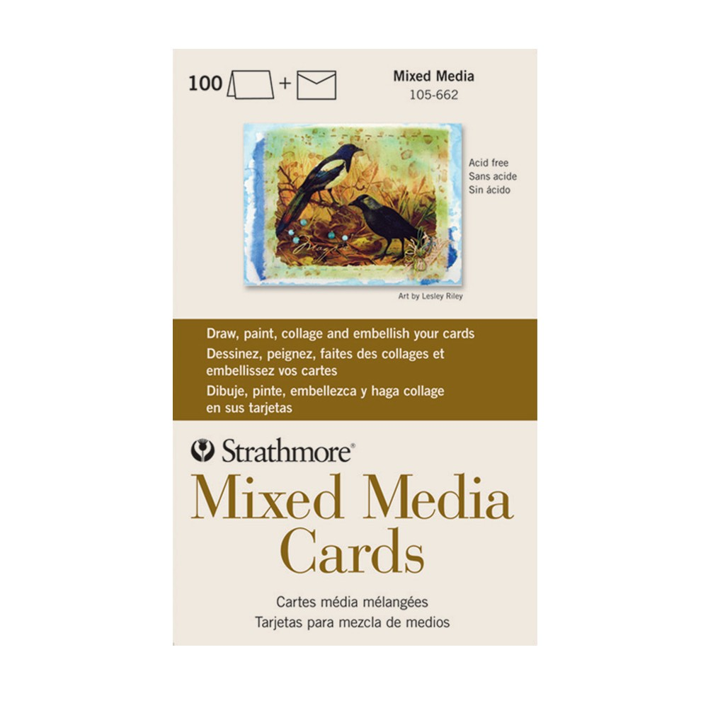 Strathmore blank mixed media greeting cards jerrys artarama strathmore blank mixed media greeting cards kristyandbryce Choice Image