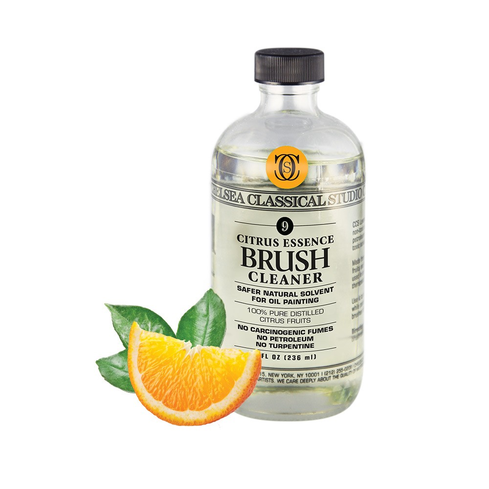 Citrus Essence Non-Toxic Brush Cleaner- Chelsea Classical