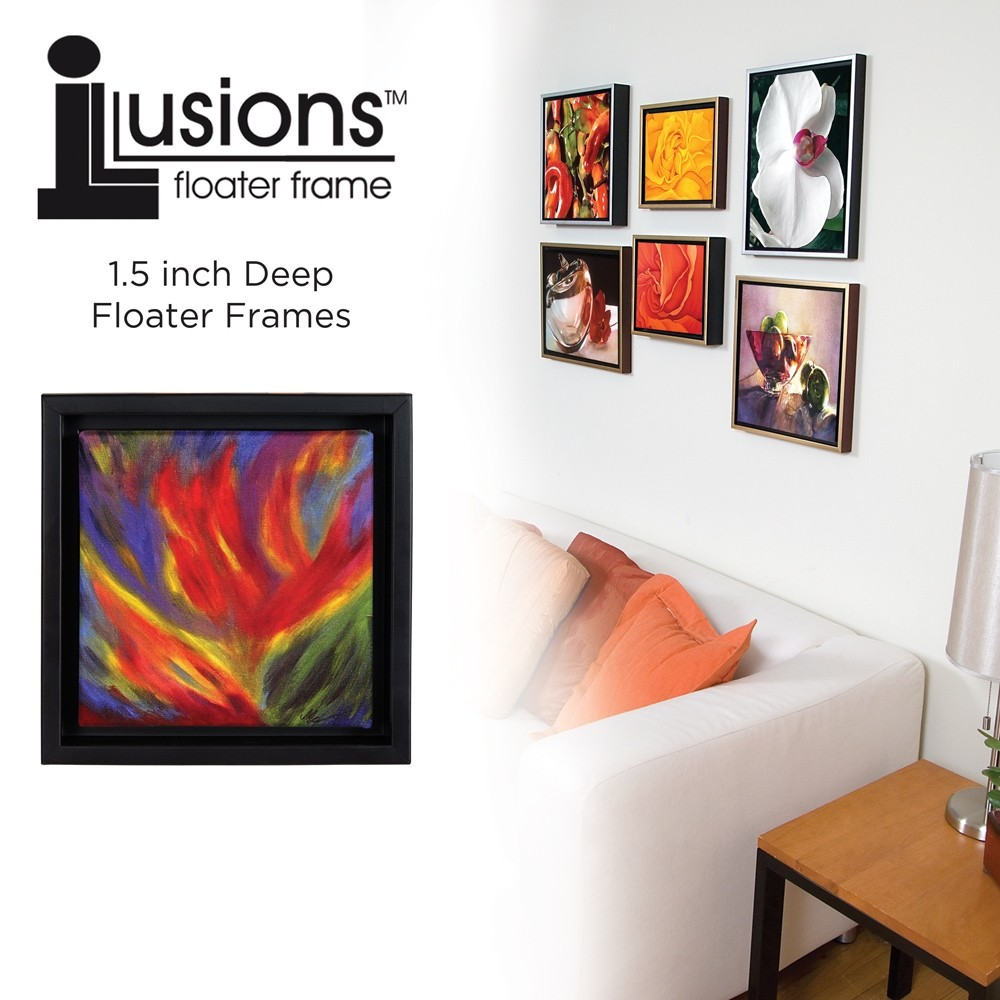 Canvas floater frame 1 12 deep illusions jerrys artarama illusions floater frames 1 12 deep jeuxipadfo Image collections