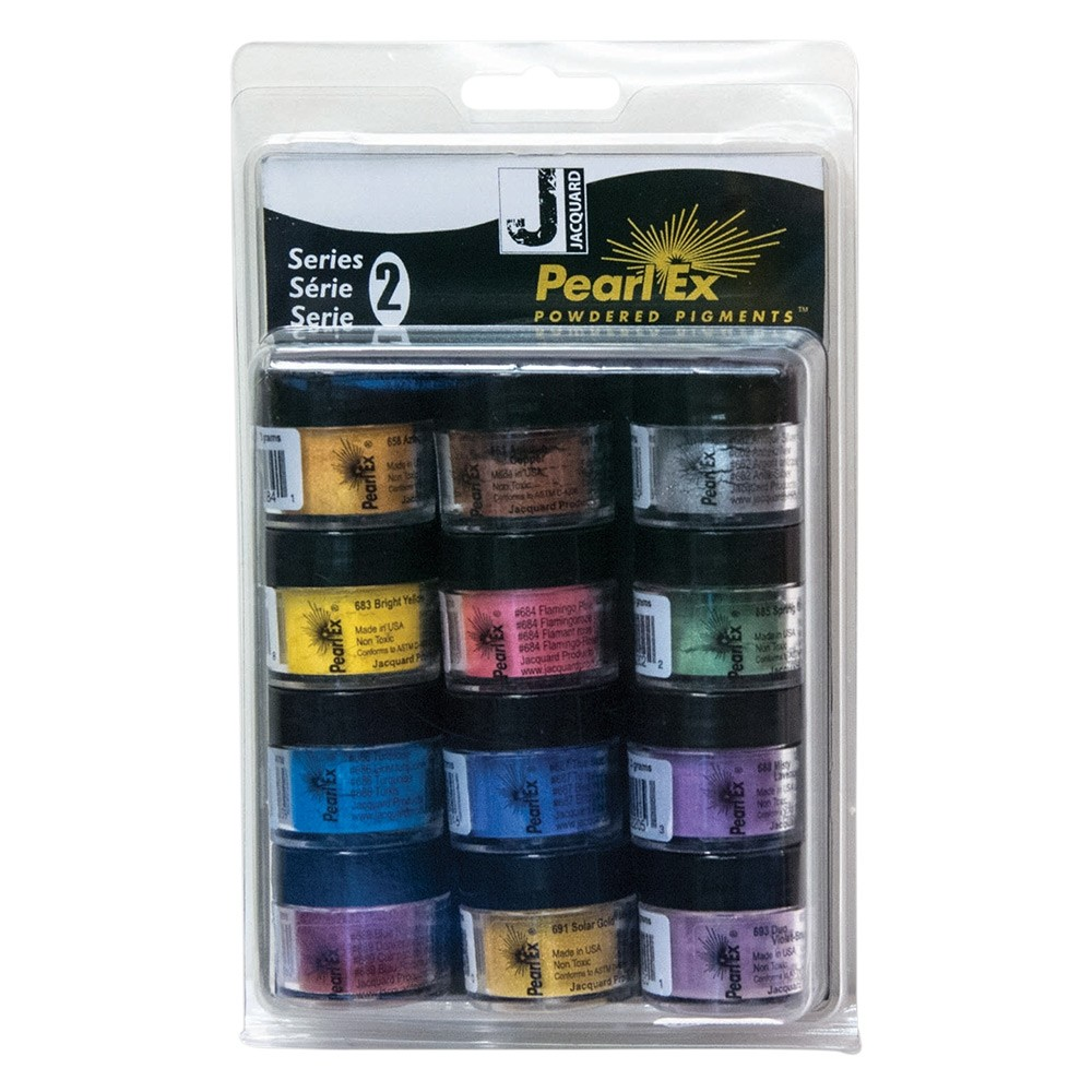 CHOICE OF 48 COLOURS 3g bottles Pearl Ex Mica Powdered Pigments
