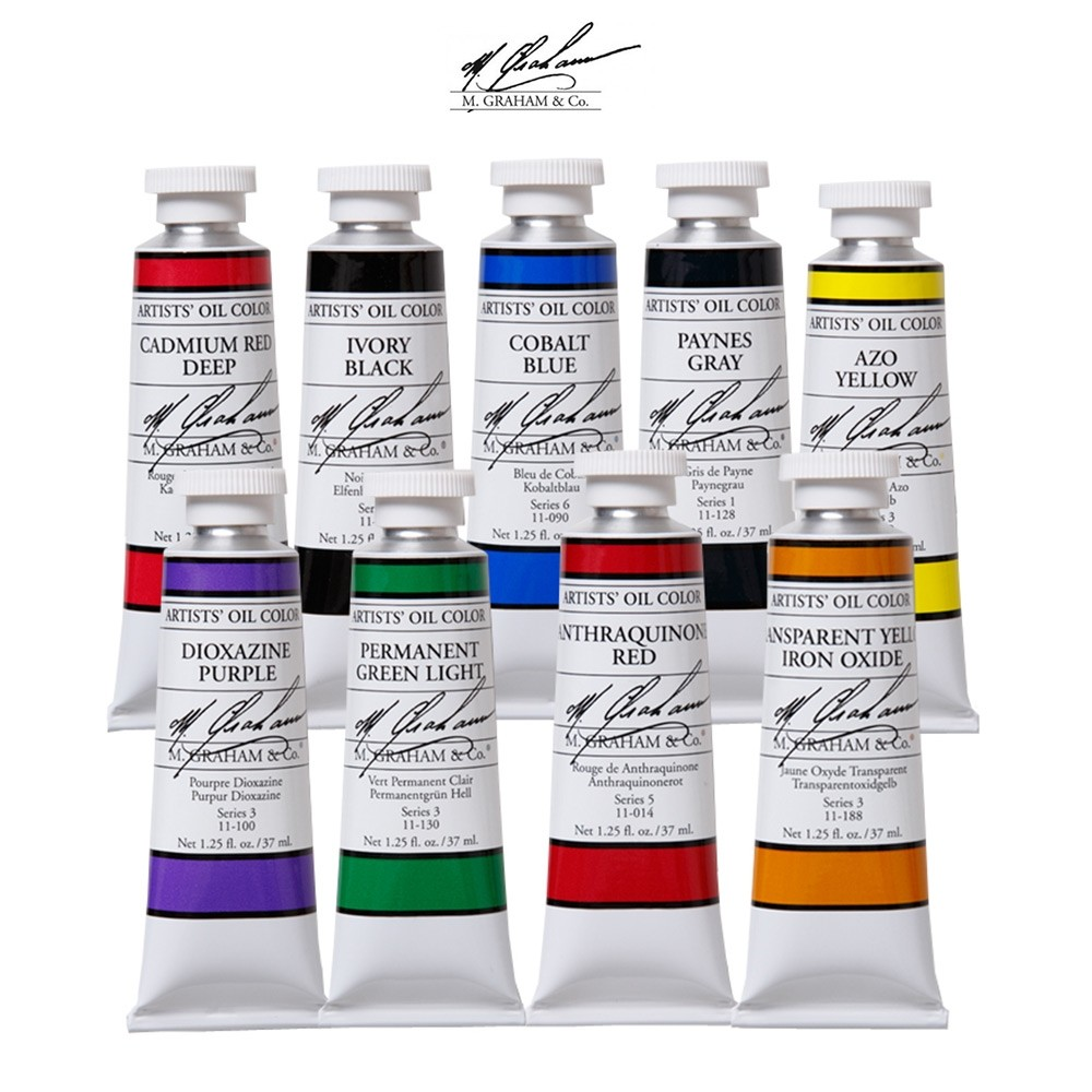 M. Graham Oil Colors | Oil Paint Made in the USA - Jerry\'s Artarama