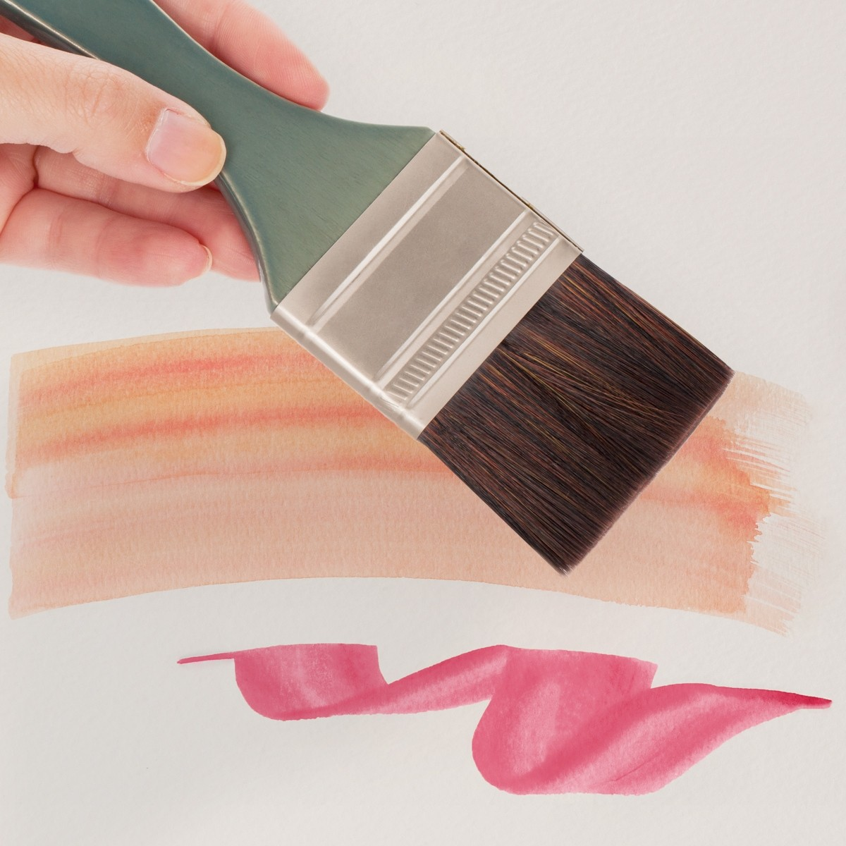 Washmate Brush 3 Creative Mark Mimik High Performance Professional Artist Synthetic Squirrel Hair Watercolor Brush