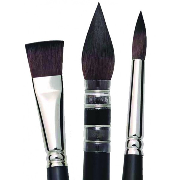 Quill Raphael SoftAqua Synthetic Series 805 Size 0 Watercolor Brush