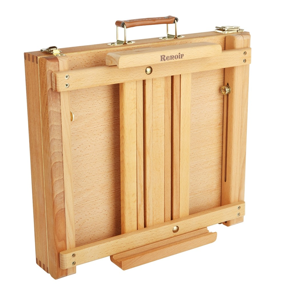 Renoir Table Easel & Sketchbox Easel w/ Metal Lined Drawer - Jerry\'s ...