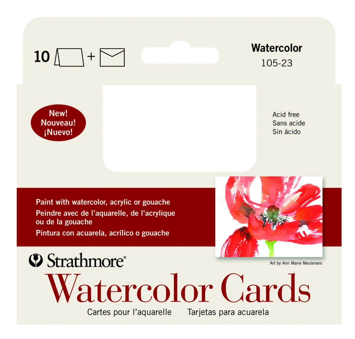 Strathmore blank watercolor greeting cards jerrys artarama strathmore blank watercolor greeting cards kristyandbryce Images