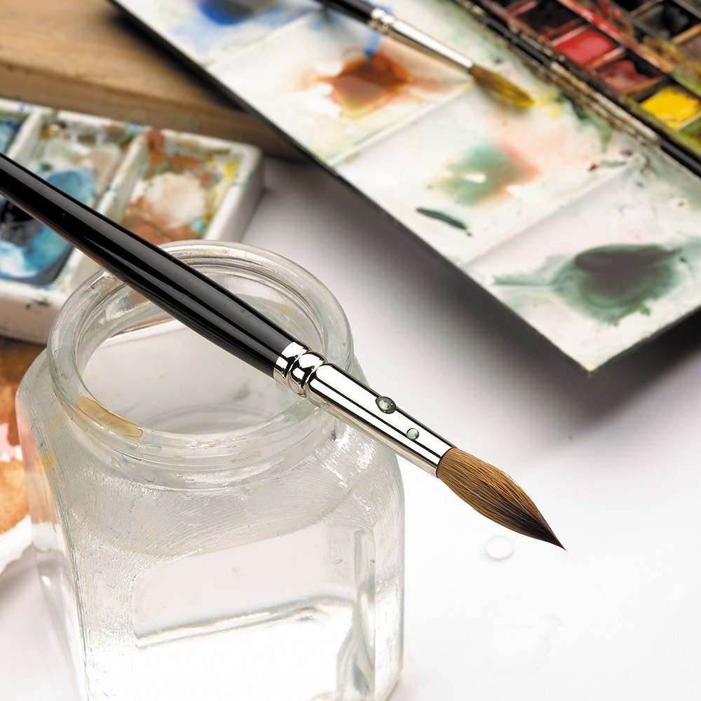 Winsor Newton Series 7 Kolinsky Sable Watercolor Standard Round Brushes