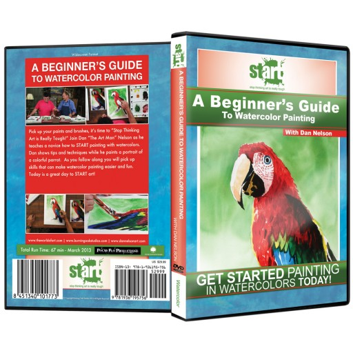 Start Art Watercolor Painting Instructional Dvds For