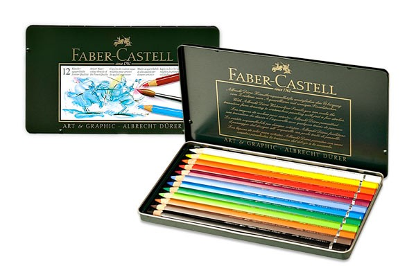 Faber-castell Albrecht Durer Artists Watercolour Pencil Cold Single Pencil