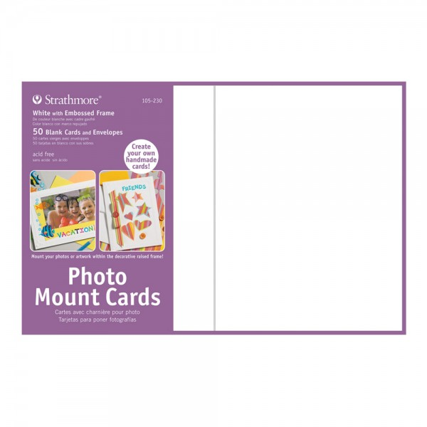 Strathmore Blank Photo Mount And Photo Frame Cards - Jerry ...