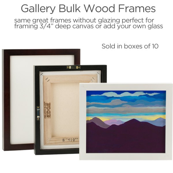 Ambiance Gallery Wood Frames | Ready Made Frames - Jerry\'s Artarama