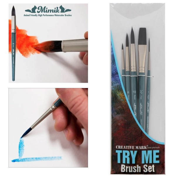 Creative Mark Try Me Brush Sets