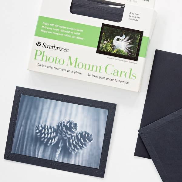 9eae2c301 Simply insert your photo or artwork at the folded edge of the card and  personalize the frame. Double-stick adhesive tabs are included to secure  the picture.