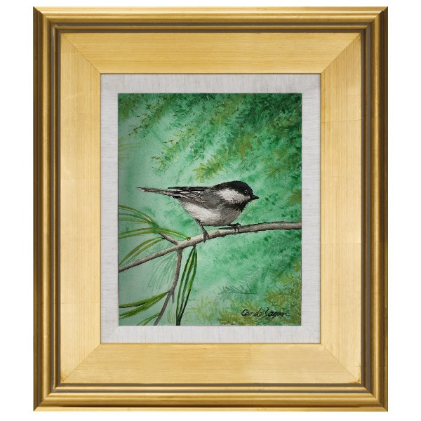 elegant plein aire gold frames with linen liners is rated 40 out of 5 by 1 - Elegant Picture Frames