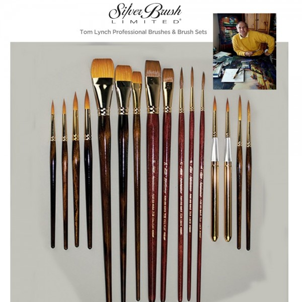 Silver Brush Tom Lynch Watercolor Brushes And Brush Sets Jerry S Artarama