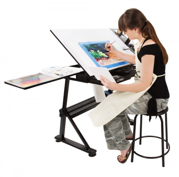 Assembly Instructions For The SoHo Art And Drafting Table U003e