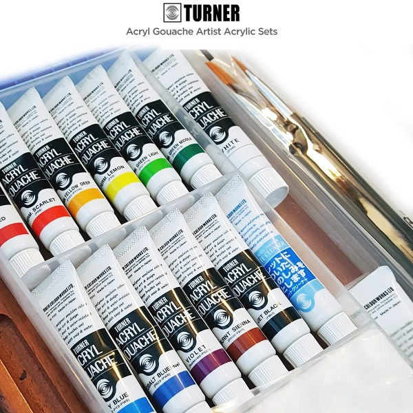 Turner gouache sets