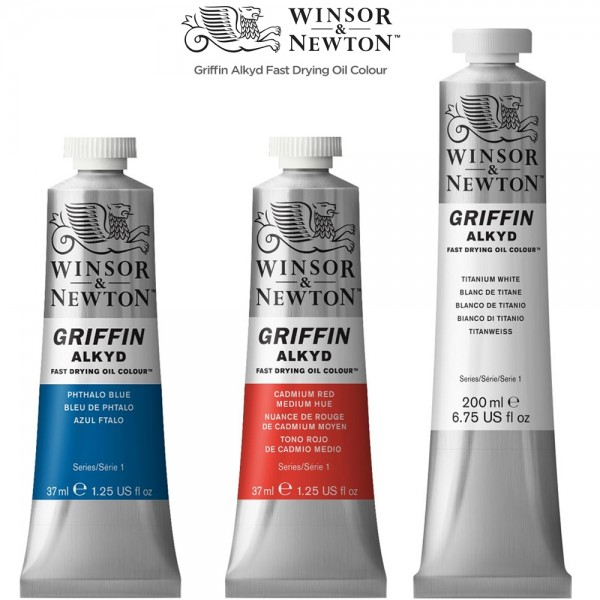 Winsor Newton Griffin Alkyd Fast Drying Oil Colors Is Rated 4 7 Out Of 5 By 47