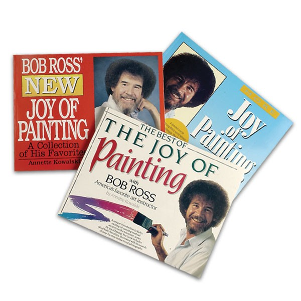 Bob Ross Joy of Painting Books