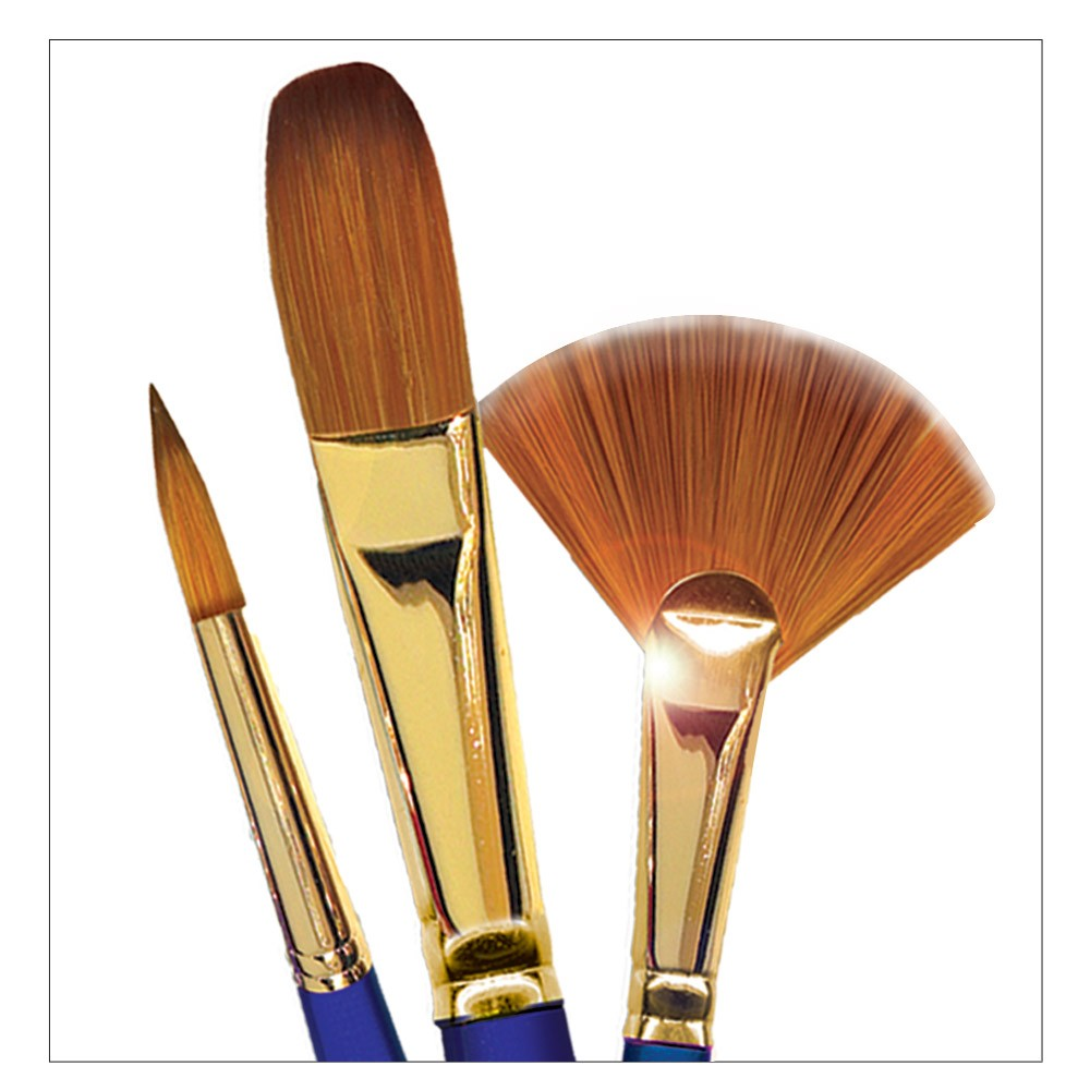 Robert Simmons Sapphire Short Handle Brushes