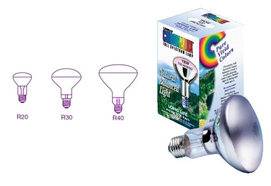 Chromalux Reflector Bulbs - Frosted