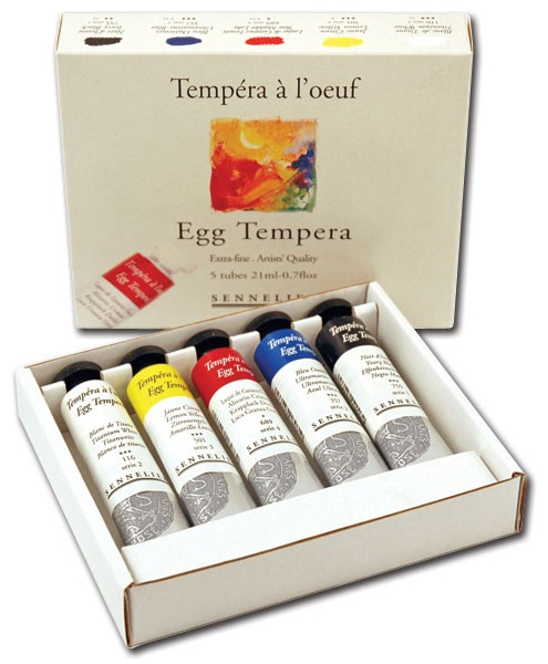 Sennelier Egg Tempera Sets
