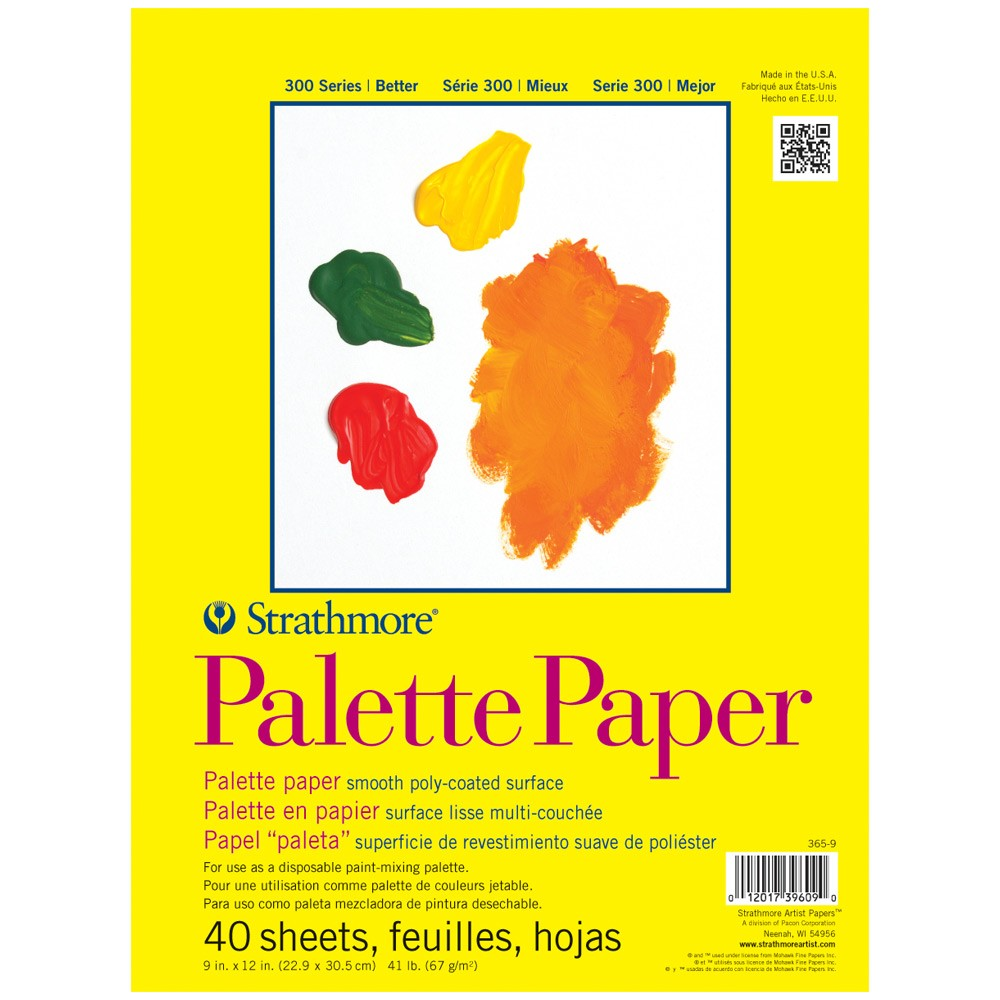 Strathmore 300 Series Palette Paper Pad 9x12in