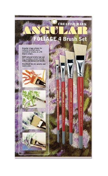 Creative Mark Angular Watercolor Brush Sets