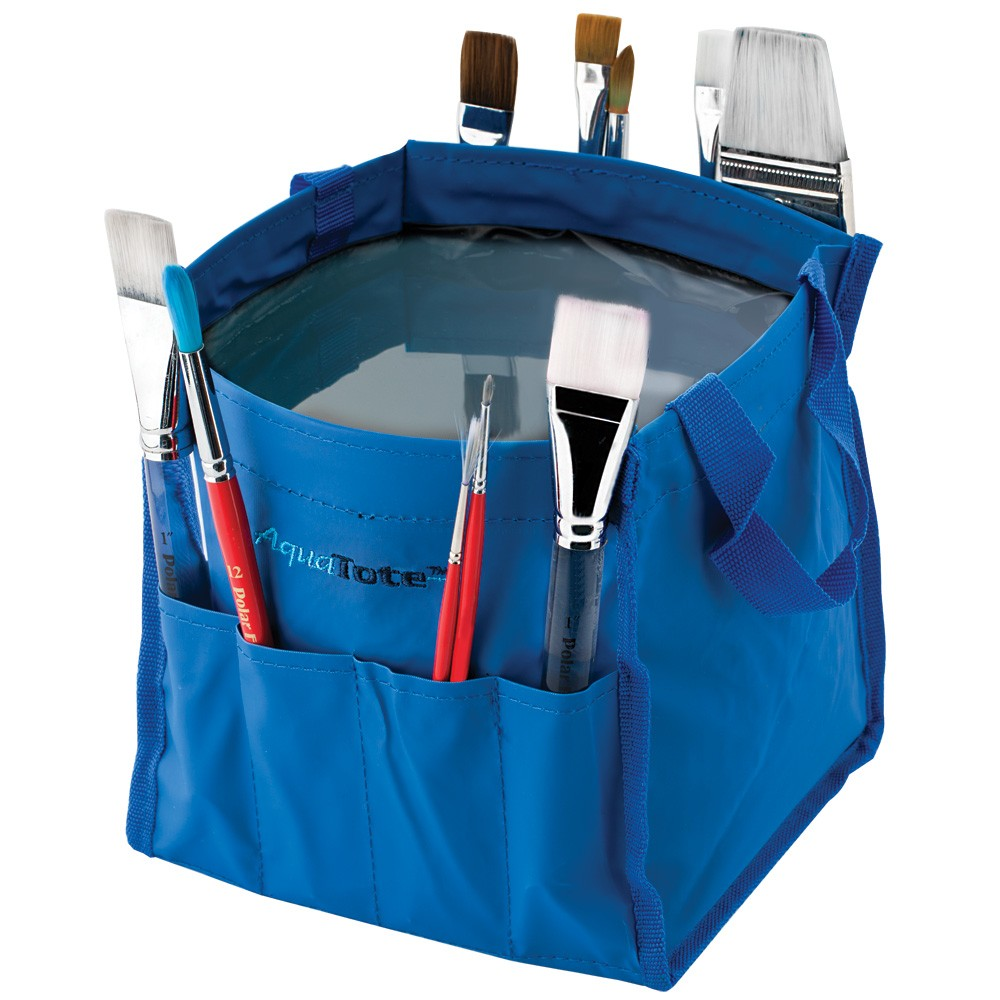 Aqua Tote Travel Water & Brush Holder Folding Tote - Jerry\'s Artarama