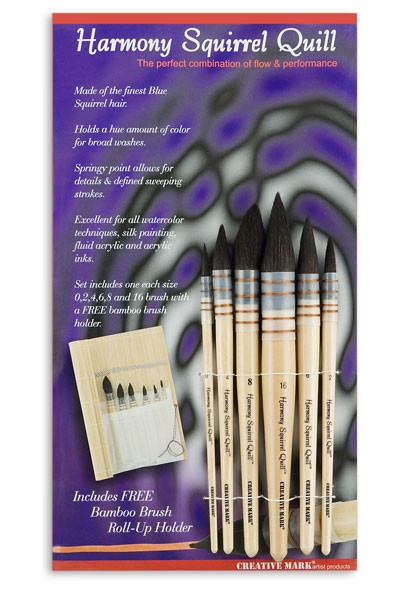 Creative Mark Harmony Squirrel Quill Watercolor Brush Sets