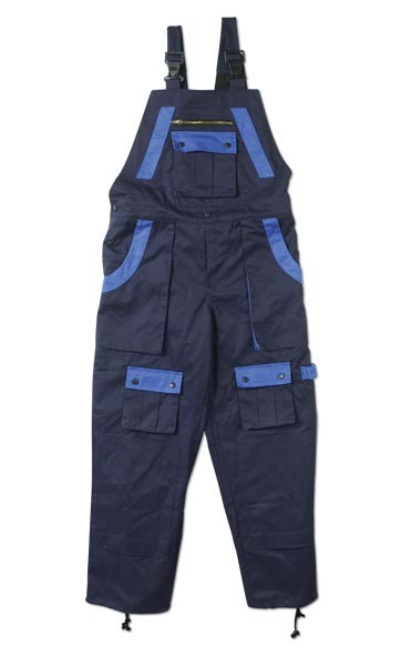 Paintwear Bib Style Overalls Navy Royal Blue