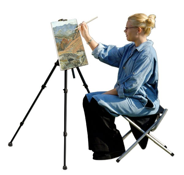 Feather Portable Lightweight Easel Jerry S Artarama