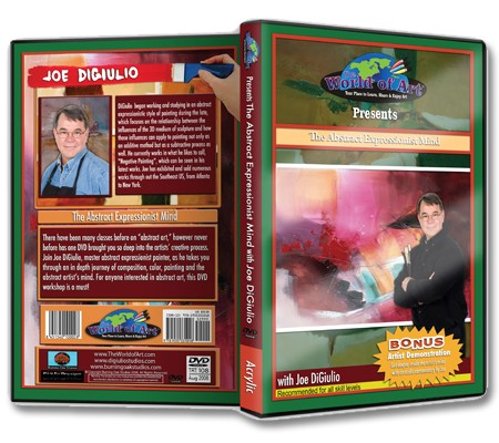 Joe Digiulio Abstract Acrylic Painting DVDs