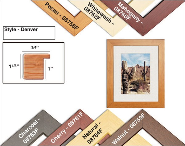 Traditional Denver Custom Wood Frames