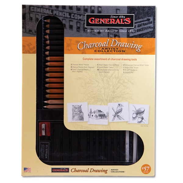 General's Charcoal Sets