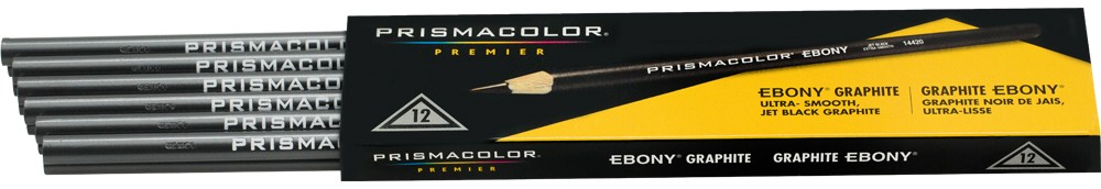 Prismacolor Ebony Jet Black Pencils