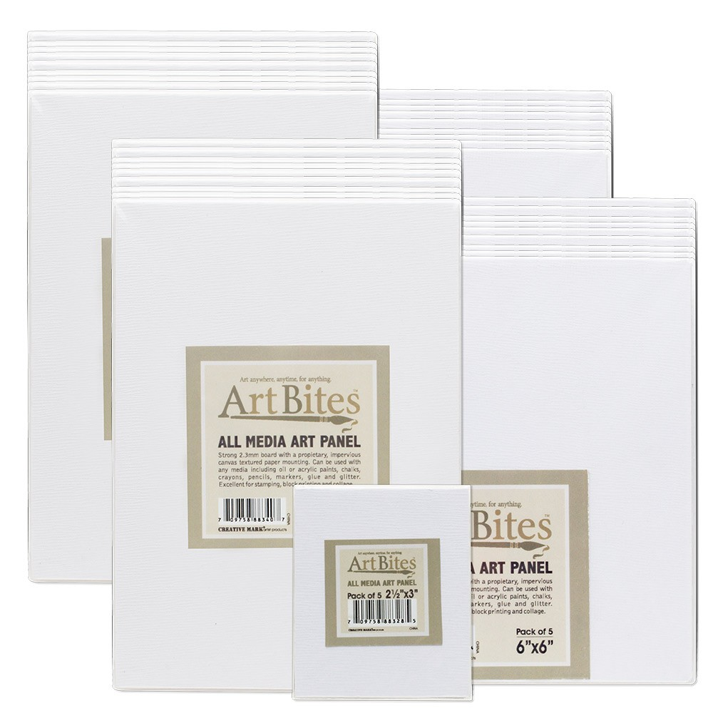 ArtBites Canvas Textured Boards