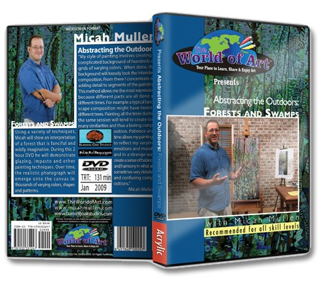 Abstracting the Outdoors: Forests and Swamps DVD with Micah Mullen