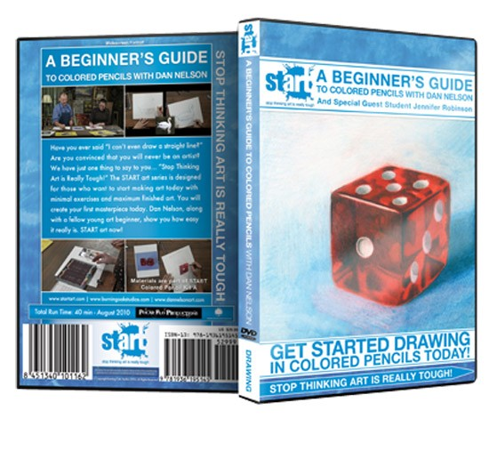START Art: Colored Pencil Instructional DVDs For Beginners