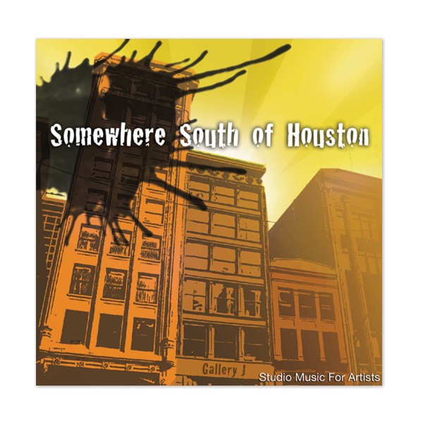 """""""Somewhere South Of Houston"""" CD by Bradley Pearce"""