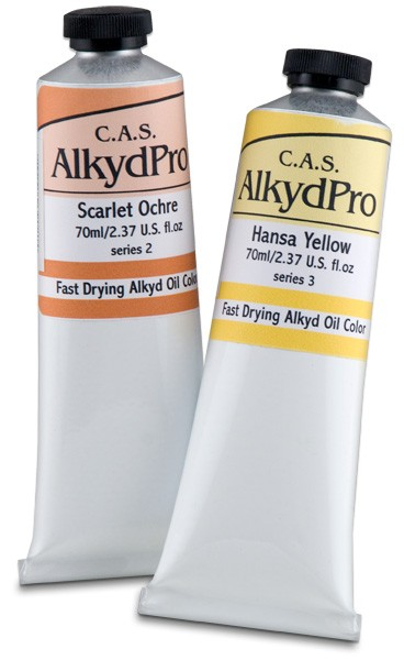 Cas Alkydpro Fast Drying Oil Colors