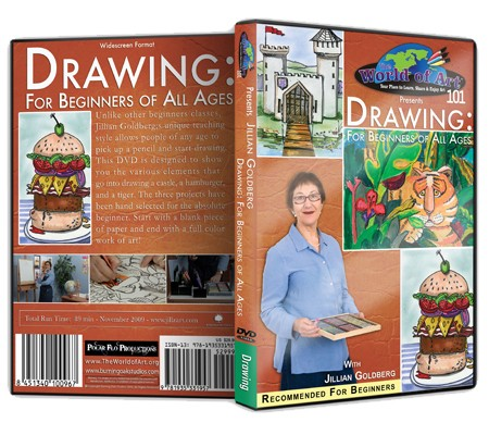 Jillian Goldberg Drawing Dvds
